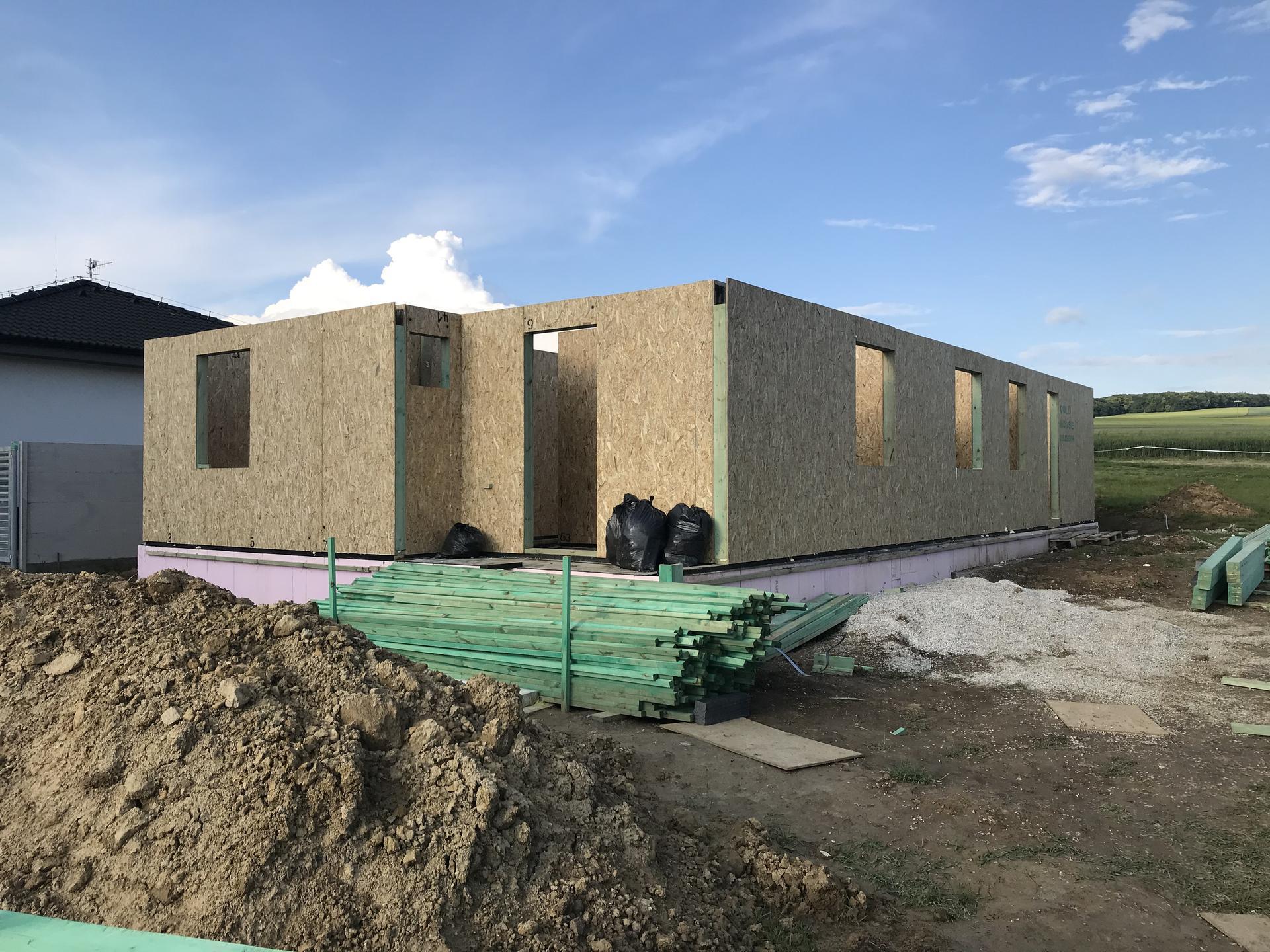 Step by step. GoldHouse montovaný dom :) - Obrázok č. 42