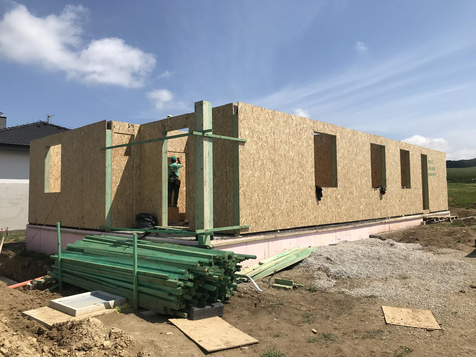 Step by step. GoldHouse montovaný dom :) - Obrázok č. 46