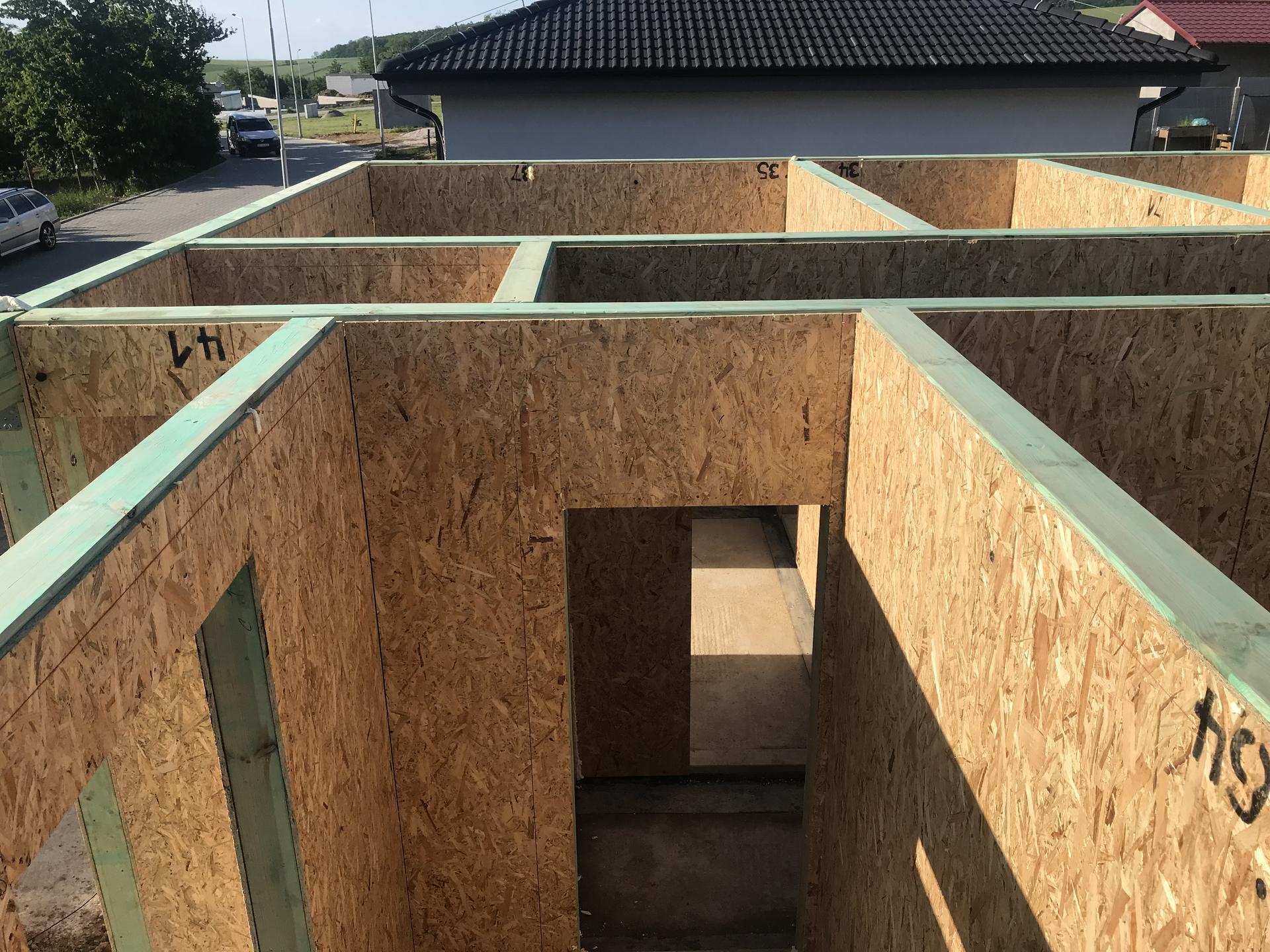 Step by step. GoldHouse montovaný dom :) - Obrázok č. 51