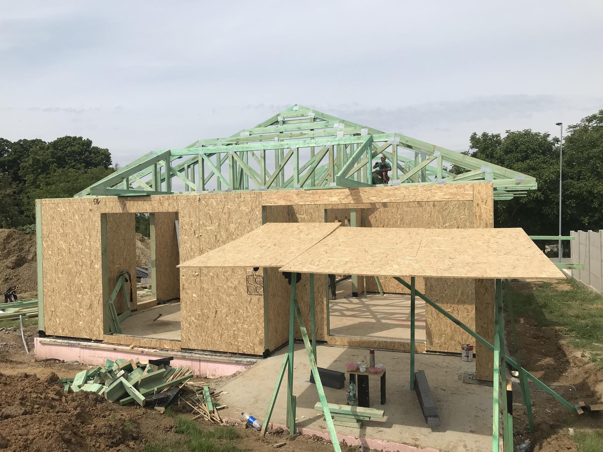 Step by step. GoldHouse montovaný dom :) - Obrázok č. 59
