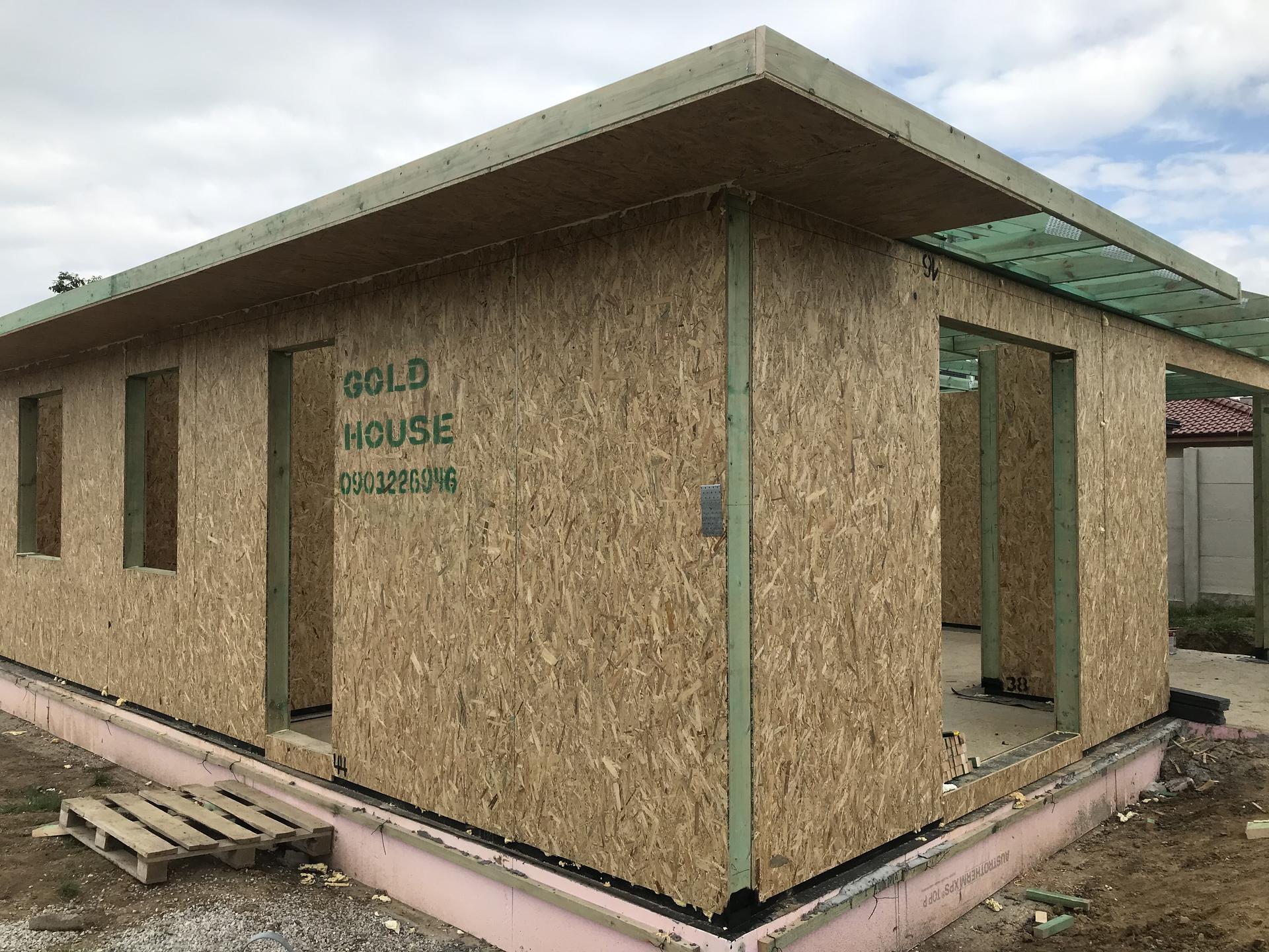 Step by step. GoldHouse montovaný dom :) - Obrázok č. 66