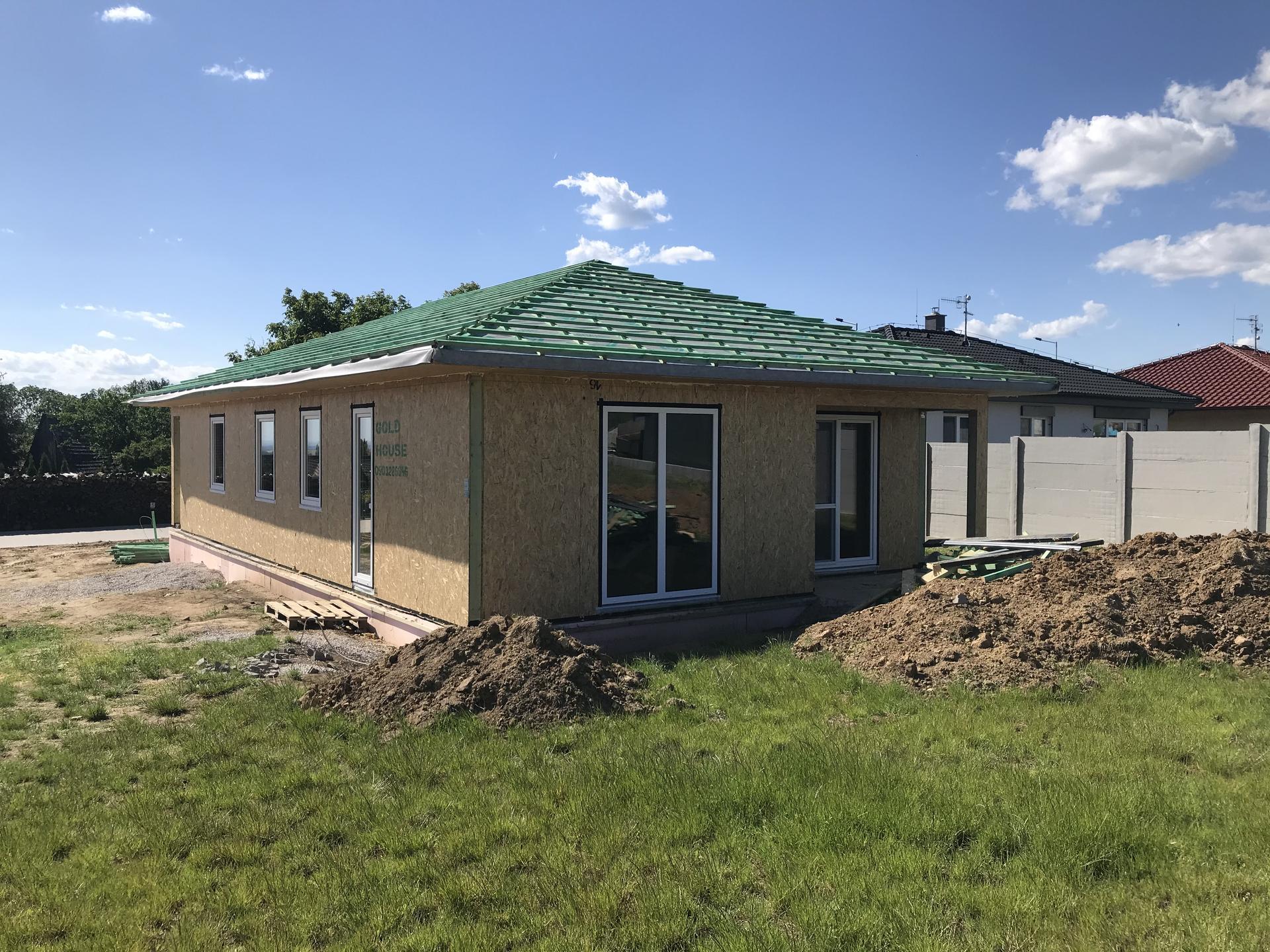 Step by step. GoldHouse montovaný dom :) - Obrázok č. 99