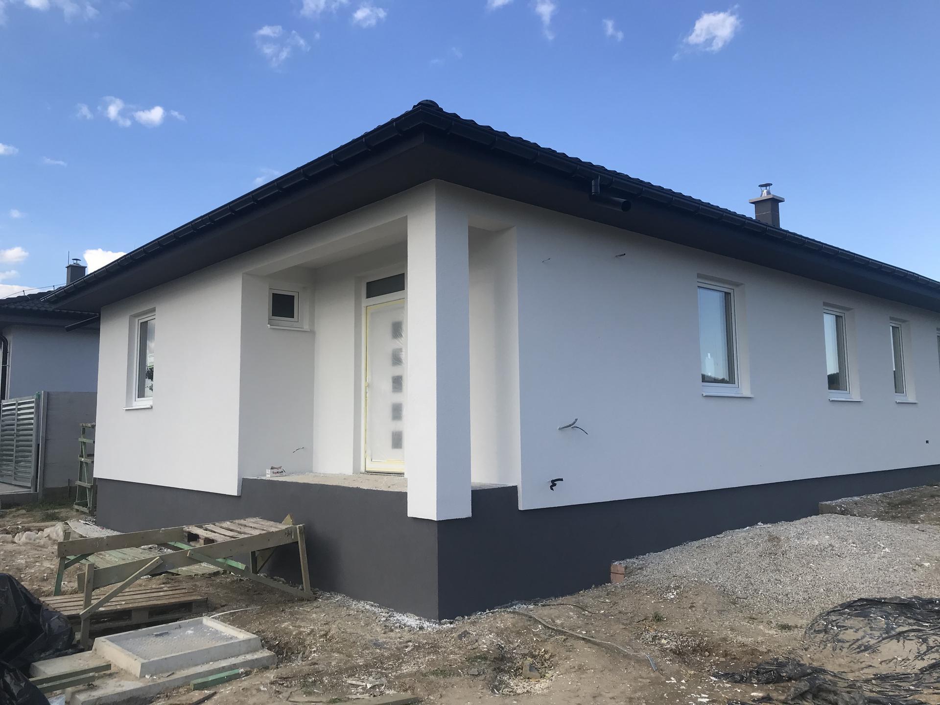 Step by step. GoldHouse montovaný dom :)