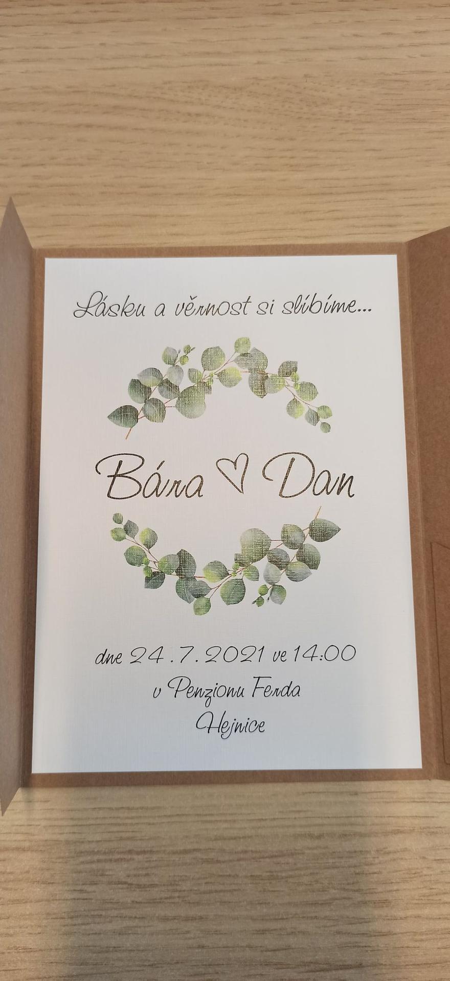 Přípravy- boho svatba 24.7.2021