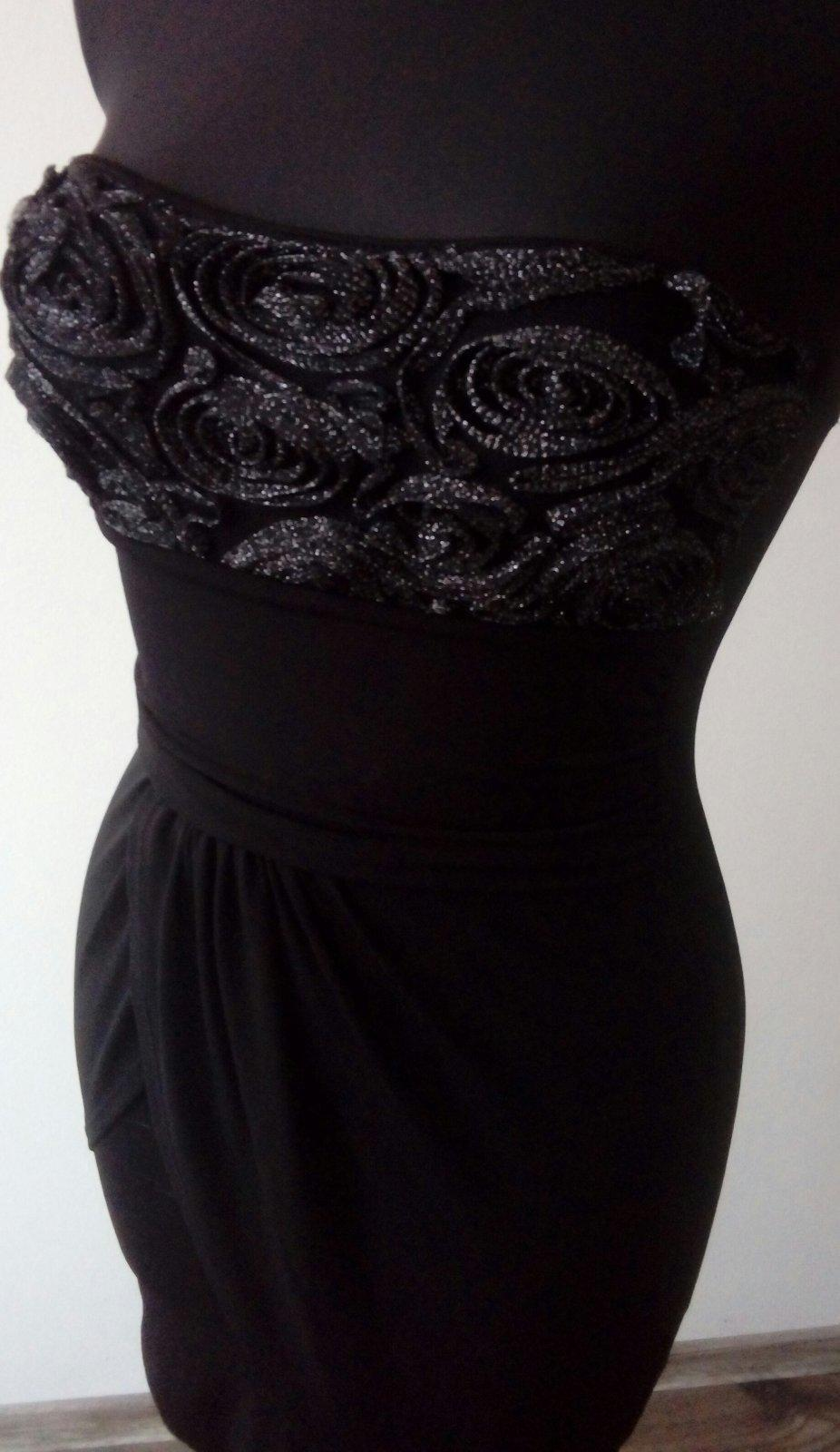 elastické šaty s/m - Obrázok č. 1