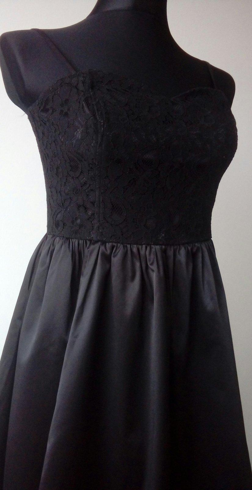 elegantné šaty H&M, m/l - Obrázok č. 1