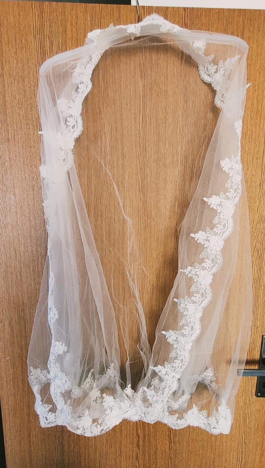 Jednoduché svadobné šaty - Obrázok č. 3