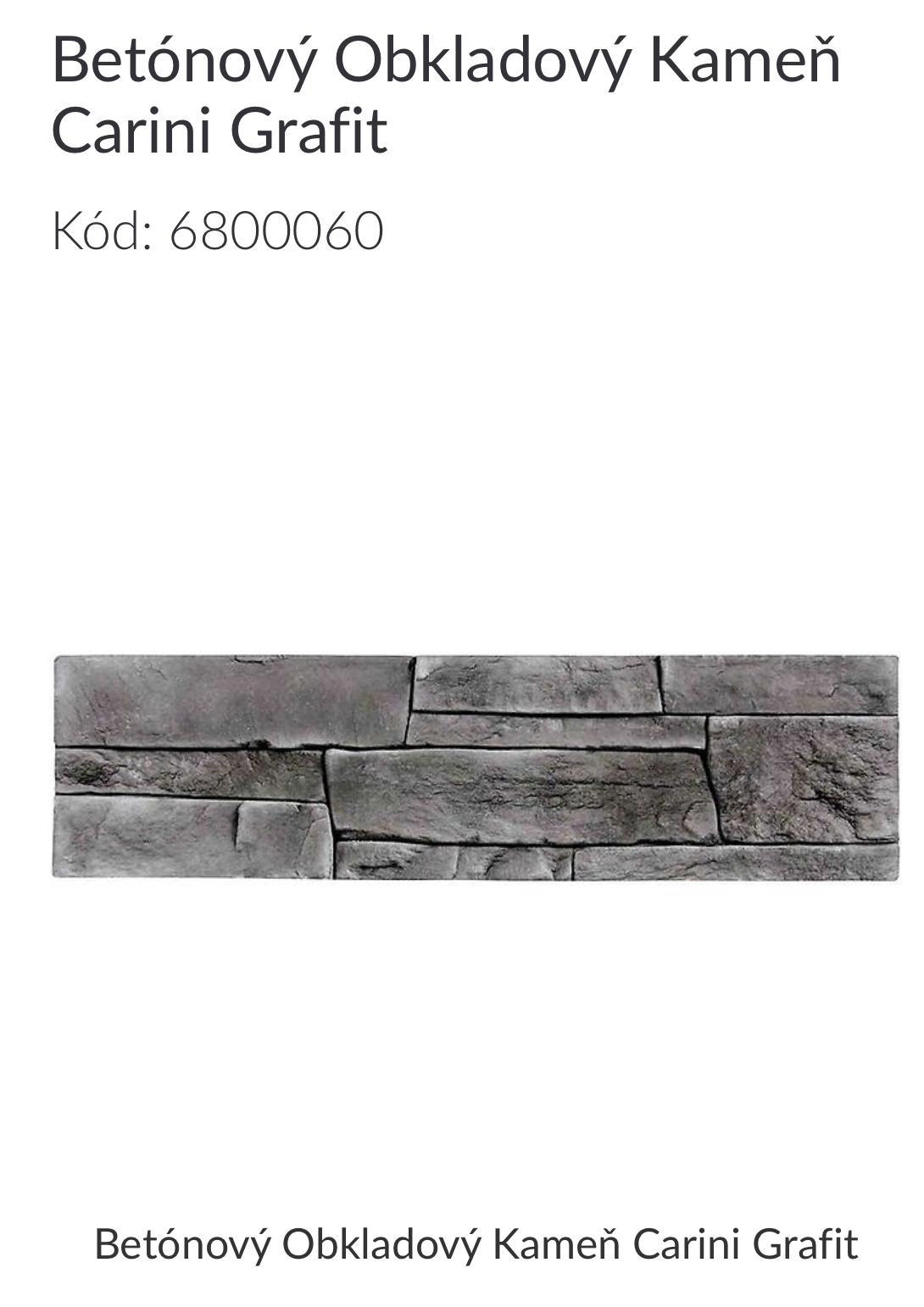 obkladovy kamen - Carini Grafi - Obrázok č. 1