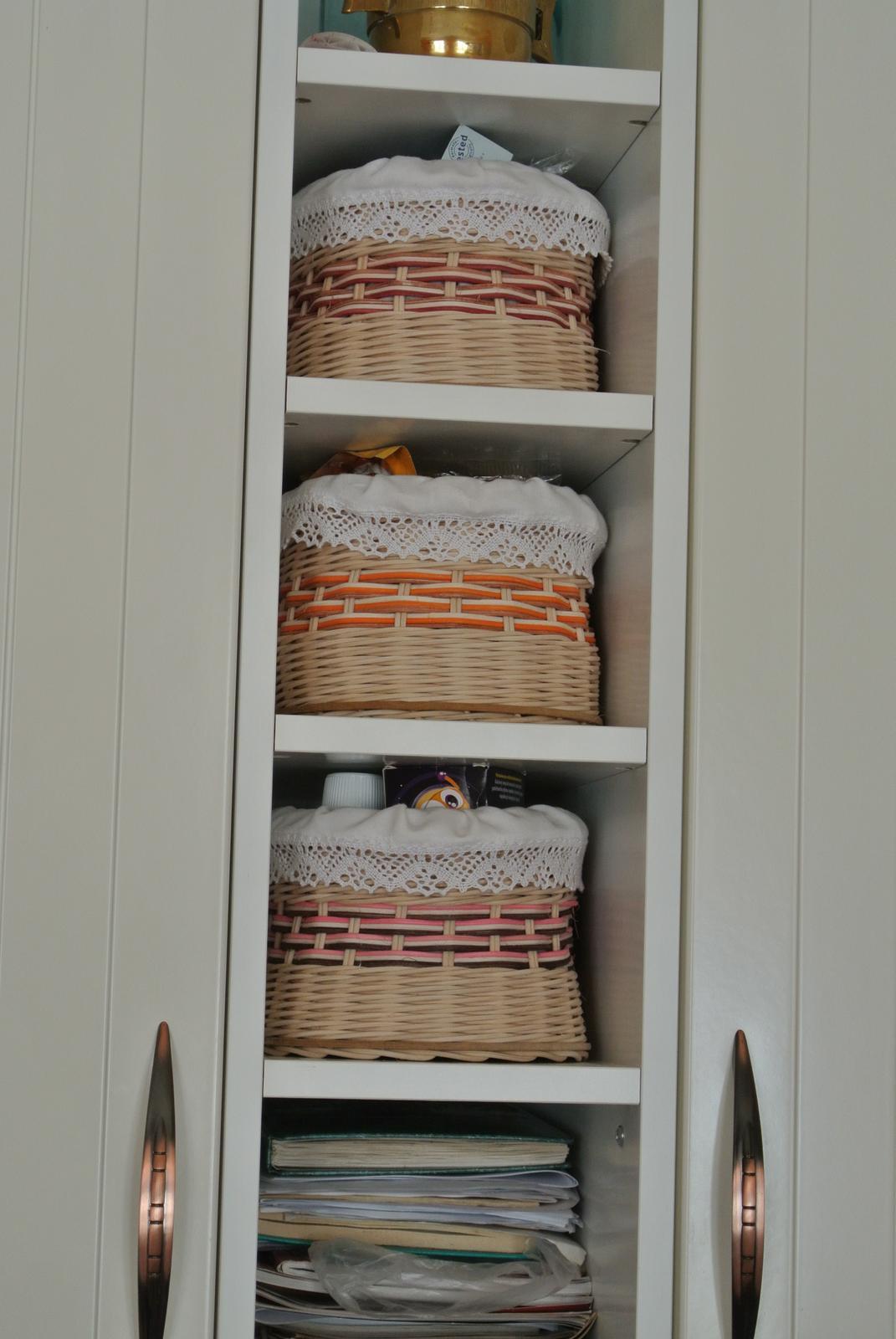 Kuchyňa - Košíky na všeličo, takých v kuchyni nikdy nie je dosť.
