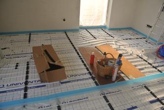 Obývačka - prvý okruh.