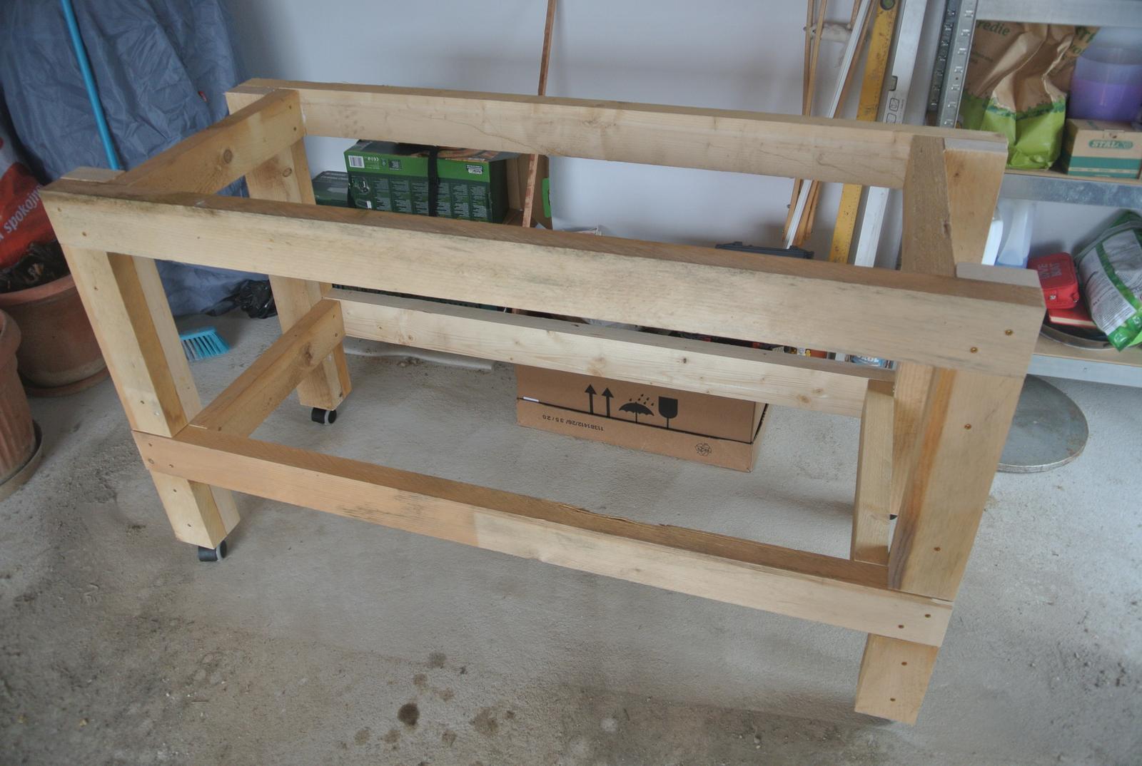Moje tvorenie z dreva - Už poskladaný.