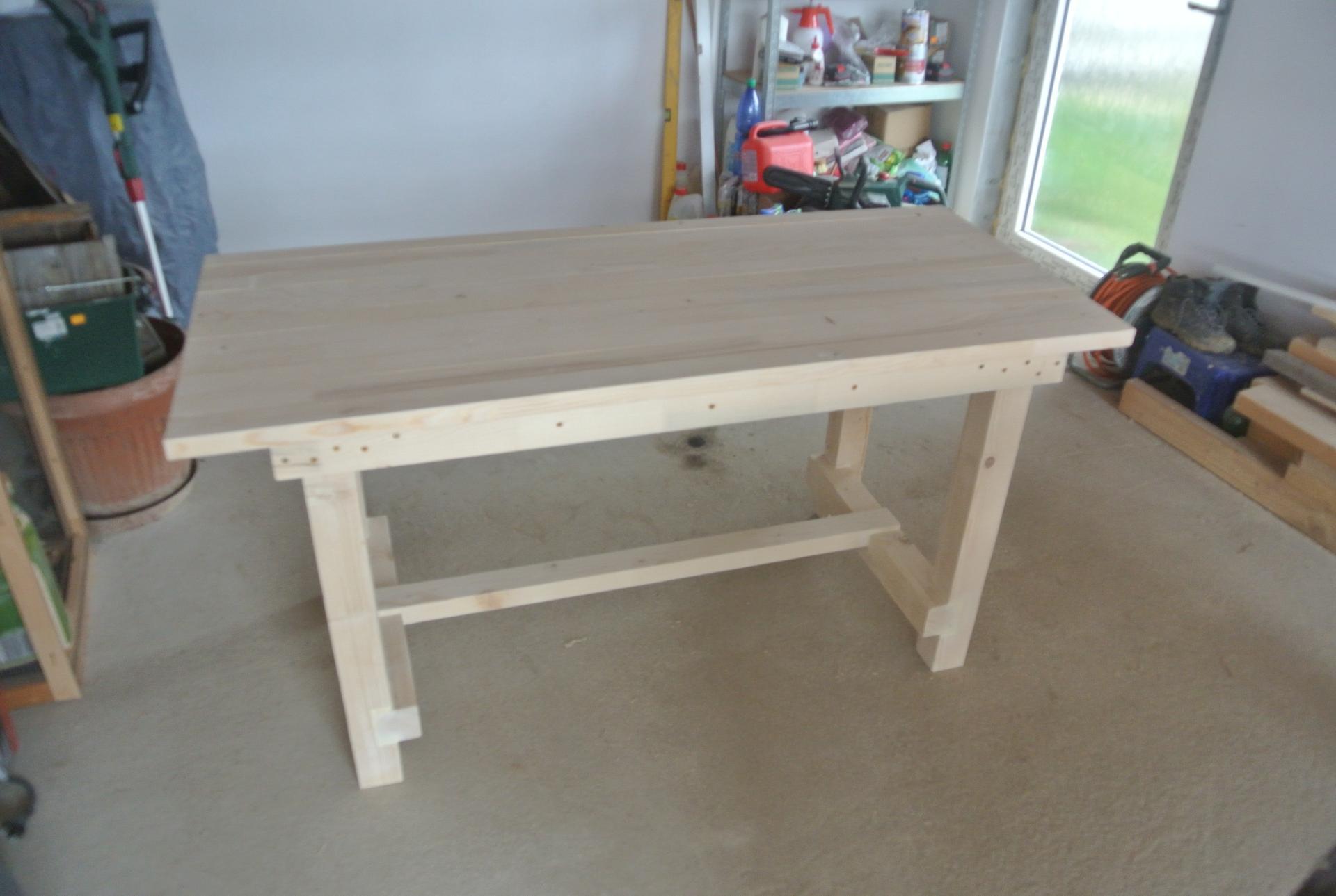 Moje tvorenie z dreva - Pripravený na povrchovú úpravu.