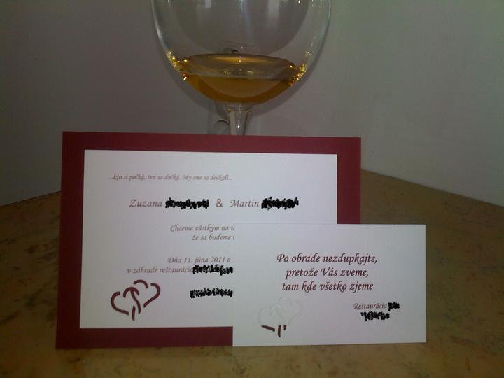 Sen sa stáva skutočnosťou :) - nase oznamenia a pozvanky - samovyroba :-)