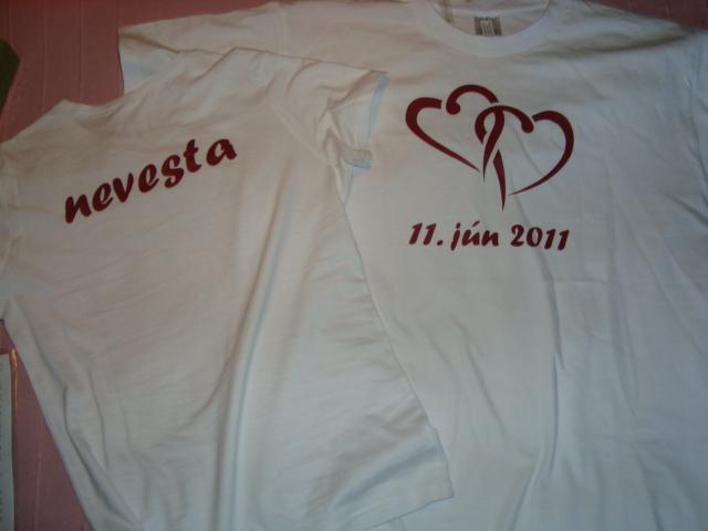 Sen sa stáva skutočnosťou :) - Naše popolnočné úúžasné tričká presne podľa nášho želania  :-)