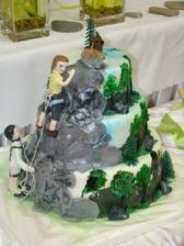 naša prefektná torta aj s Artušom