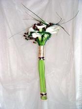 Svatební květinou bude Kala. Nějakou podobnou kytičku bych chtěla mít.