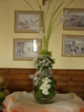 výzdoba rautového stolu