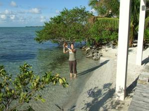 Byla jsem fascinovana popadanymi kokosovymi orechy