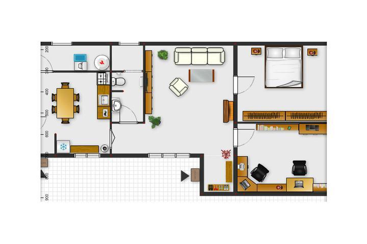 Tu bývame - a takto by to malo nejako vyzerať :)