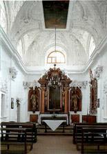 A takhle vypadá kaple, kde bude obřad.