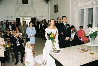 před oltářem :-)