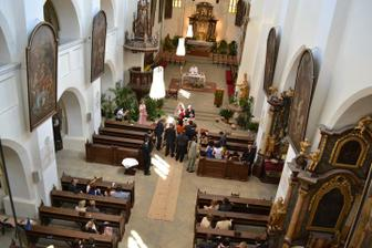 Interiér kostela, foto kamarád