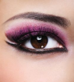 Pripravy ,,,čo sa mi páči - beauty purple make-up