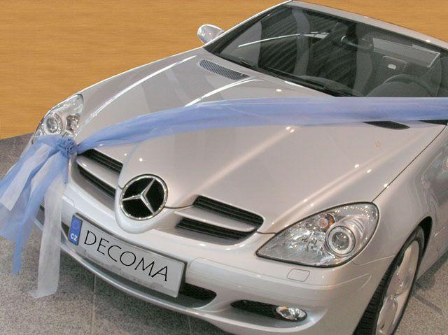 Mé červnové sny - Takhle ozdobit auto ženicha?