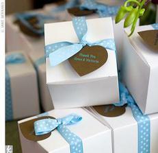 ... krabicky na bonbony ...