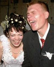 lidi by se měli na svatbě hlavně bavit :)