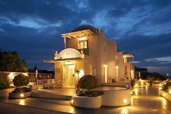 sem jedeme na svatebni cestu - Santorini