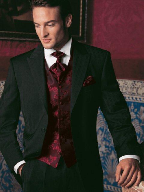 Pripravy na moju svadbu - Oblek bude takehoto stylu, len vesta a kravata inej farby.