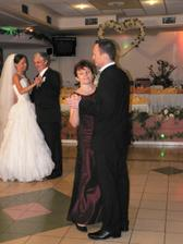 druhý tanec s rodičmi