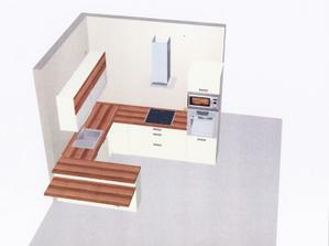 vizualizácia našej kuchyne....čo poviete? kombinácia slivka a vanilka vysoký lesk...