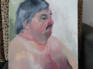 malba dceri...malovala školníka:)