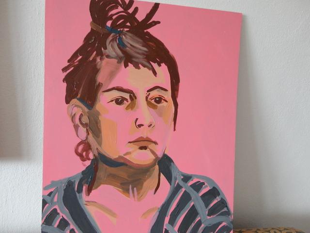 Dcerine malby- - dcérin autoportrét