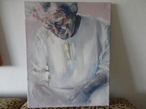 malba na plátne