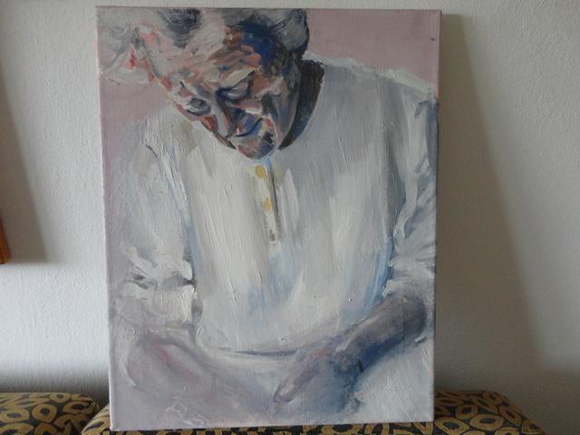 Dcerine malby- - malba na plátne
