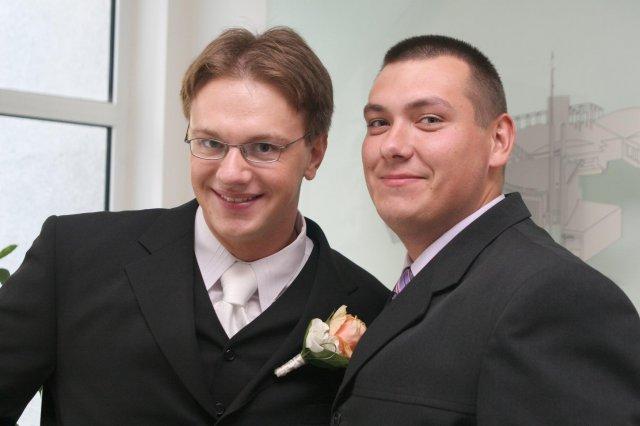 Danielka{{_AND_}}Mirko Havirovci - manžel so svedkom
