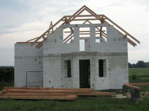 A takhle vypadala střecha 3 měsíce :o( - červen 09