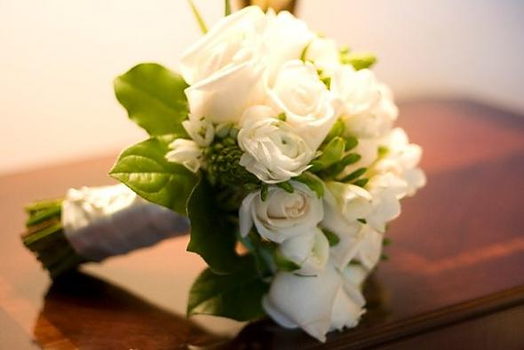 Květiny - bílé růže - Obrázek č. 11
