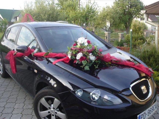 Vyzdoby svadobných  áut - Obrázok č. 13