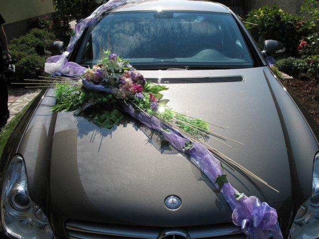 Vyzdoby svadobných  áut - Obrázok č. 32