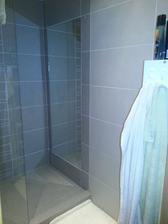 hádam ma nebude deprimovať nápad môjho manžela - zrkadlo v sprchovom kúte :-D