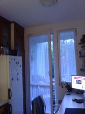 a pôvodné 34 ročné dvere s oknom...ale poslúžili