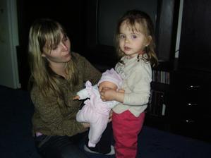 tak a zase já s dcerou