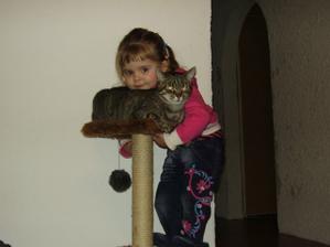 naše družička dcera Pavlínka