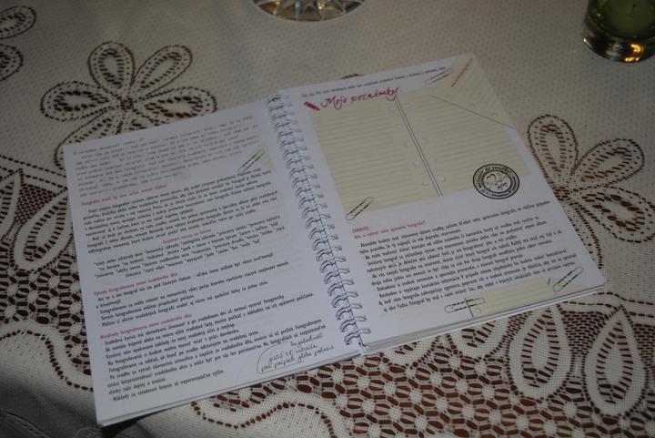 Finska svadba.... - Už som si tam urobila aj prvý zápis....