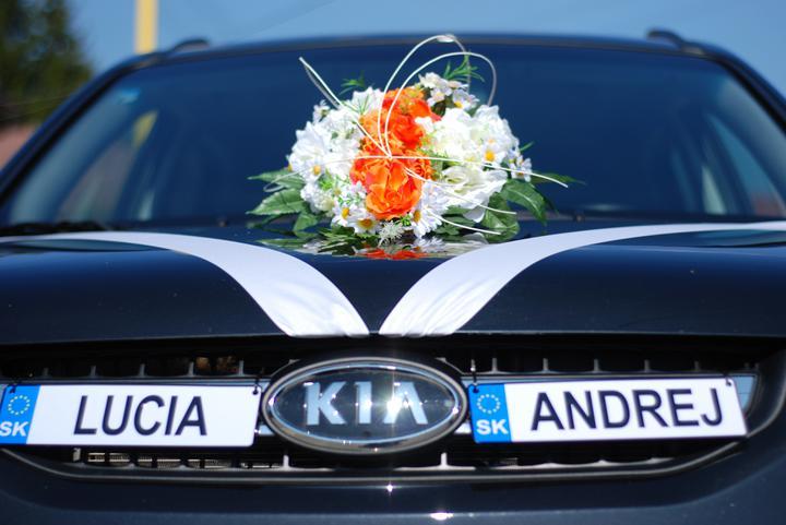Lucia{{_AND_}}Andrej - autíčko pre novomanželov