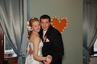 a prvý novomanželský tanec...